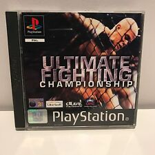 PS1 PLAYSTATION1 UFC ULTIMATE FIGHTING CHAMPIONSHIP CIB COMPLETE