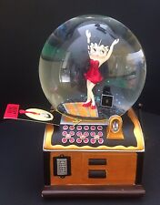 "New Betty Boop Musical (Sankyo)Snow Globe by Westland Giftware ""Be A Lady""No Box"