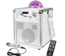 Soundsystem Standalone Lautsprecher LED Lichteffekt USB  Micro SD Bluetooth