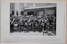 1896 BOER WAR ERA PRESENTATION OF NEW COLOURS ROYAL MARINES CHATHAM NAMED