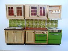 Lundby, Lisa  cuisine vert, vintage en bon état