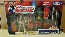 MOBILE SUIT GUNDAM RX-78 & G-FIGHTER DELUXE EDITION BANDAI 2001
