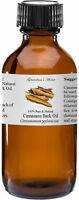 Cinnamon Bark Essential Oil - 4 oz - 100% Pure and Natural - Free Shipping