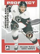 2006-07 ITG Heroes & Prospects ALEXANDER RADULOV X2 #125 Montreal Canadiens