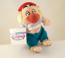 "Disney Store ""Smee"" from Peter Pan Mini Bean Bag Plush NWT MINT & RARE"