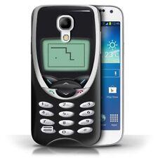 Étuis, housses et coques noirs Samsung Galaxy S4 Mini pour téléphone mobile et assistant personnel (PDA) Samsung
