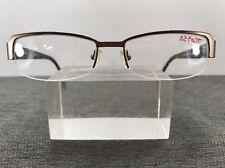 Theory Eyeglasses TH1102 C02 51-16-130 France Bronze Brown Half Rimless F84