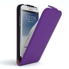 Tasche für Samsung Galaxy Note 2 Flip Case Schutz Hülle Cover Lila