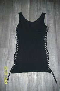 (143) Longtop cutouts gothic emo punk WGT