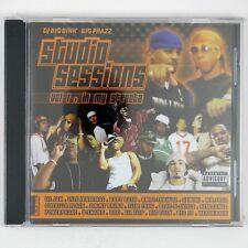 DJ BIG BINK BIG PHAZZ Studio Sessions Vol 1 In My Street CD 2005 RAP  SEALED