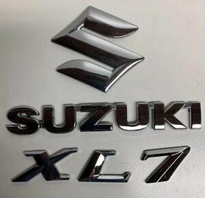 2008 Suzuki XL-7 Rear Trunk Tailgate Emblem Trim Set
