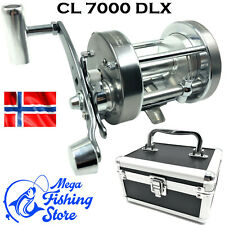 Meeres Rolle//Angelrolle Koffer PALADIN Fishing Norwegen CL 7000 DLX Metall Multirolle Meeresrolle inkl