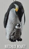 Custom Emperor Penguin Chick Christmas Ornament / Free Standing Adorno Penguins