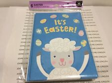 Hallmark Easter Card Package New Factory Sealed Set Of 6 Easter Cards-Sheep