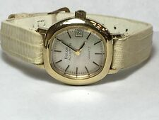 VINTAGE WOMENS BULOVA ACCUTRON (10K RGP CASE) WATCH.(BULOVA-N9)