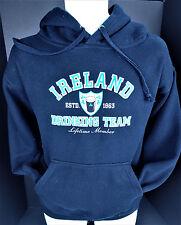 Small Ireland Drinking Team Lifetime Member Blue RK 24 Deluxe Hoodie