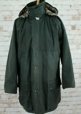 HOGGS OF FIFE Green Lined Wax Coat size XXL