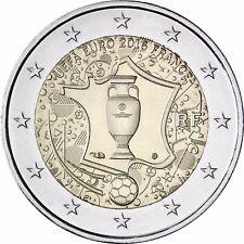 Frankreich 2 Euro Münze Fußball 2016 bfr Gedenkmünze UEFA Europameisterschaft