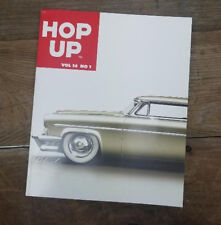 HOP UP MAGAZINE V14 1 HOT ROD BOOK EARLY CUSTOMS FORD FLATHEAD VTG PHOTOS LSRU