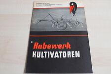 144292) rabewerk-remolcador cultivadora-folleto 09/1954