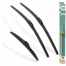 "Toyota Auris Hatchback 2012-2020 Heyner Hybrid Wiper Blades Set of 3 26""14"" 8"""