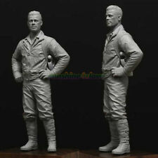 Unpainted 1/16 Resin Kit 120mm Movie Character Garage Kit Fury Brad Pitt Statue