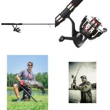 Fishing Rod and Reel Combo Spinning Pole Fresh Water Spin Gear Gift Shakespeare