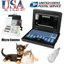 Usa Micro Convex Dogscats Veterinary Ultrasound Scanner Machine Small Animal