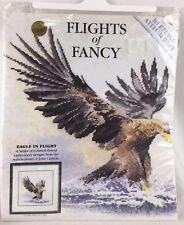 """Flights of Fancy """"Eagle in Flight"""" Counted Cross Stitch Kit John Clayton"""
