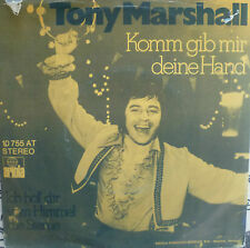 "7"" NL-PRESS VG+! TONY MARSHALL Komm gib mir Deine Hand"
