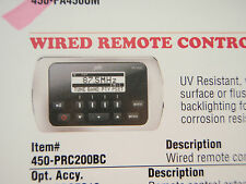 STEREO WIRED REMOTE CONTROL POLK 450-PRC200BC WATERPROOF MARINE BOAT ELECTRONICS