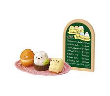 Sumikko Gurashi Re-Ment Patisserie 2 Sign Cake Cream Puff Mini Trading Figure