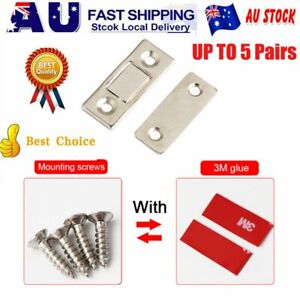 2-10Pcs Strong Magnetic Catch Latch Ultra Thin For Door Cabinet Cupboard Clos&H