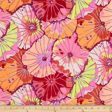 Fat Quarter Kaffe Fassett: Lotus Leaf-Rouge-Rowan Coton quilting tissus
