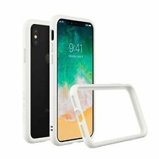 RhinoShield CrashGuard Bumper Case for iPhone X - White