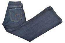 G-STAR RAW Core Custom Blue Solid 100% Cotton Mens Pants Jeans - 29 x 30