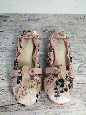 Diesel Women's  Comfort Shoes  Size 7.5 floral pink slip on casual memory foam