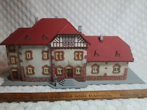 "Vtg Faller Nr 1518 HO Scale German Town Lenzkirch Building 11.4"" X 6.1"" F 5.6"" T"
