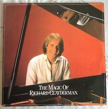 "THE MAGIC OF RICHARD CLAYDERMAN,DOUBLE LPs,VINTAG,12"" LP 33.EXCELLENT CONDITION"