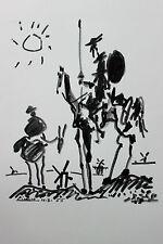 Pablo Picasso Lithograph Don Quichotte - Don Quixote Arches