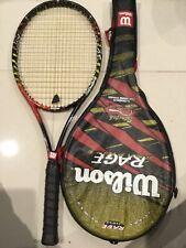 Wilson Rage Graphite Tennis Racquet Street 28� Reduced Sale