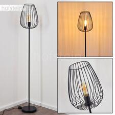 Lampadaire Retro Lampe sur pied Lampe de chambre à coucher Lampe de séjour noire