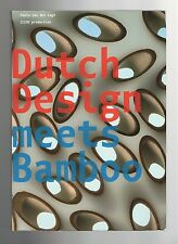 Dutch Design Meets Bamboo   Furniture, Industrial, Commercial, Product Design