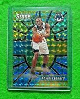 KAWHI LEONARD PRIZM CENTER STAGE MOSAIC CARD CLIPPERS 2019-20 MOSAIC REFRACTOR