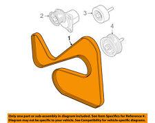 FORD OEM 08-11 Focus-Serpentine Drive Fan Belt 8S4Z8620BB
