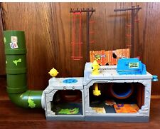 Sewer Lair Playset Vintage TMNT Teenage Mutant Ninja Turtles Playmates Complete