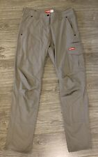 Women's Hard Yakka Tan Work Pants Size 12 Slim Leg - As New