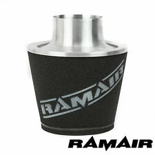 Cono de Inducción Ramair Grande Aluminio Universal Filtro de aire 100mm Od Cuello