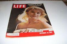 NOVEMBER 28,1960 LIFE Magazine-CARROLL BAKER-COCA-COLA