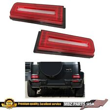NEW 2019 STYLE G500 G55 G63 G550 LED TAIL LIGHTS W463 G-WAGON SIGNAL FIT 90-2018